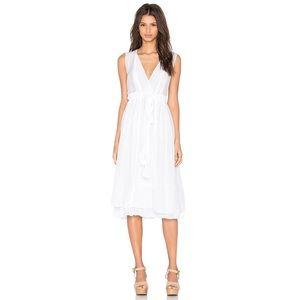 CP Shades White Sleeveless Julia Dress Sz M